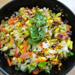 sprouted chaat recipe