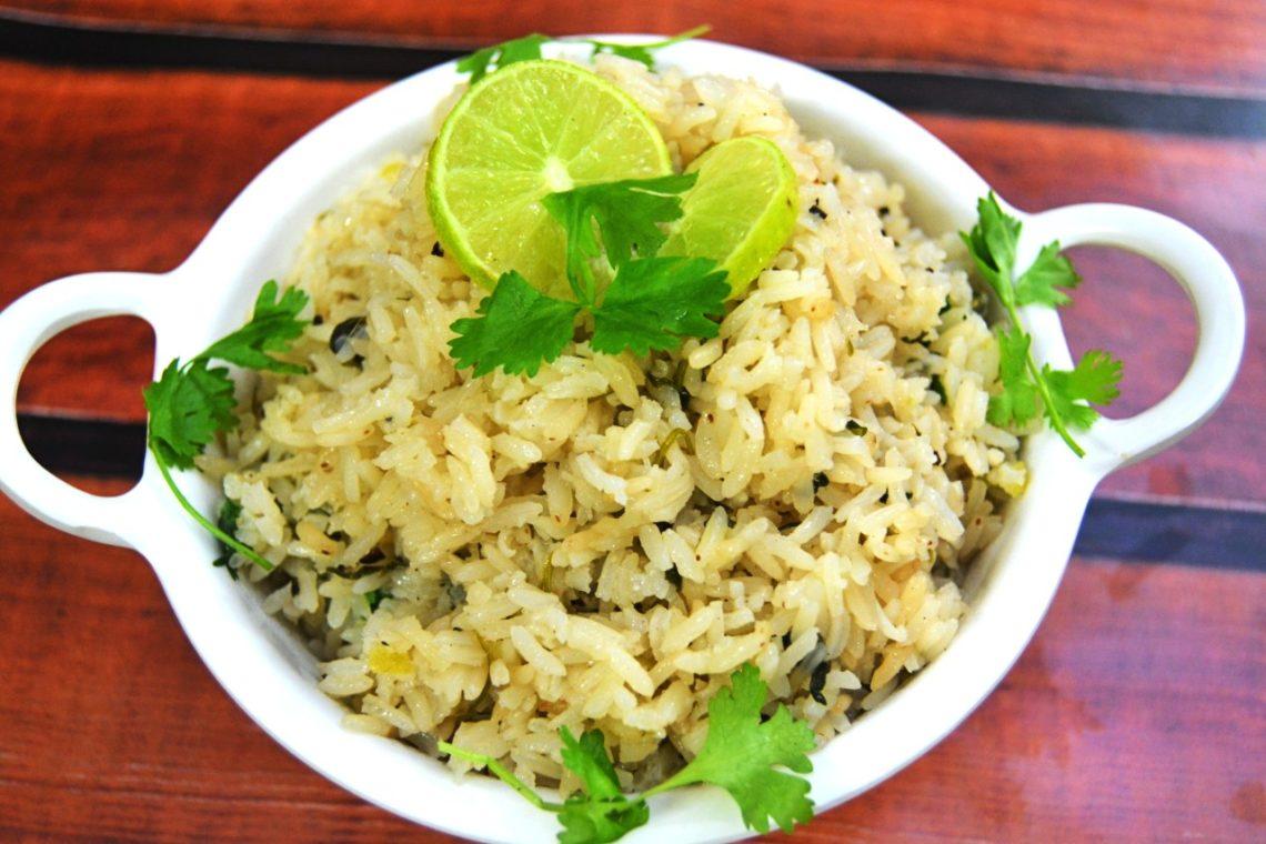 Lemon Coriander Rice